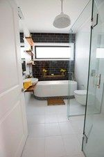 Loz and Tom's Bathroom and Laundry - Room Reveals - Loz and Tom - Teams - The Block NZ - Shows - TV3