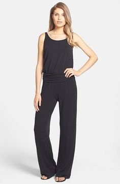 Tart 'Tegan' Ruched Waist Jumpsuit available at #Nordstrom