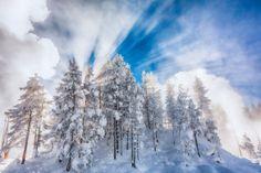 Yellowstone Rays of Light