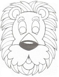 Masky – vyrabimesdetmi – album na Rajčeti Animal Masks For Kids, Animals For Kids, Mask For Kids, Printable Masks, Printables, Quilling Paper Craft, Paper Crafts, Coloring For Kids, Coloring Pages