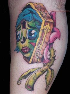 Coffin Tattoo Image