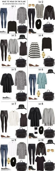 10 Days in Stockholm Day Outifts