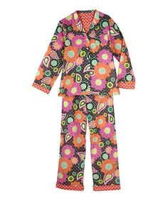 3378450fd90 Love this Ziggy Zinnia Pajama Set by Vera Bradley on  zulily!  zulilyfinds  Pajama