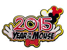 Paper Wizard - Die Cuts - Year of the Mouse 2015