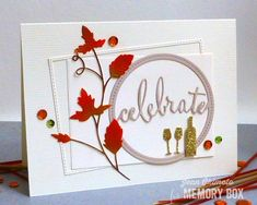 Frame a fall greeting with the Stitched Rectangle Trimmings to celebrate the season with the Grape Vine and Wine Glasses and Bottle dies. Hello, Jean Okimoto here, with a simple design composed of layered diecuts and inks. My Stitched Rectangle Trimmings die set - from the September Release - isn't getting any rest right now. It's become one of my go-tos for Design Team and class cards. Each of the 8 dies will cut a rectangle and a delicate stitched frame that are perfectly proportioned for…