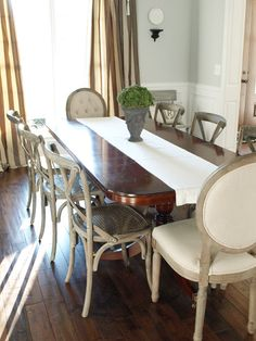 Painting a Weathered Wood Finish: A Dining Chair Makeover | Less Than Perfect Life of Bliss | home, diy, travel, parties, family, faith