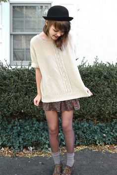 I have a vintage-y sweater like that!