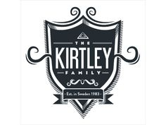 Kirtley Family Crest by Erik Kirtley