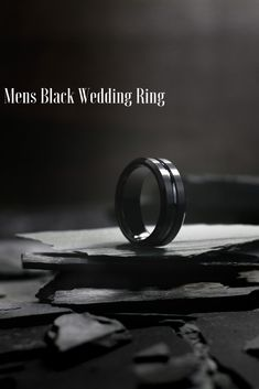 This black tungsten wedding ring features a carved center channel with polished tapered edges. He really wants a black wedding ring and this was is amazing. They have soo many to pick from. Finally found the one for him! Tungsten Wedding Rings, Tungsten Carbide Rings, Black Wedding Rings, Unique Wedding Bands, Dream Wedding, Rings For Men, Channel, Jewelry Design, Husband