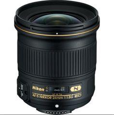 Buy New Nikkor 24mm F1.8G ED Digital Lens