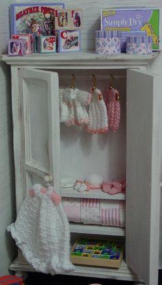 Emma Rose's wardrobe - miniature baby stuff  By wawamum