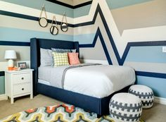 The girls from J and J Design Group share the details of the big boy room they designed for a spunky two-year-old who was ready for the big transition.