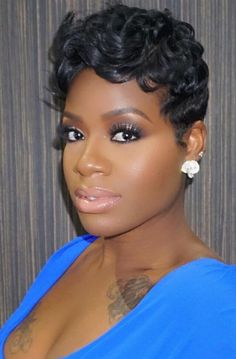 Fantasia Hairstyles Endearing Fantasia's Short Style  African American Beauty N' The Hair