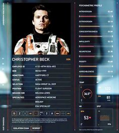 the martian dr chris beck - Google Search