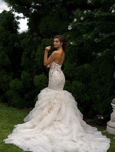 mermaid Eve of Milady wedding dress; click to see more gorgeous gowns from this collection.