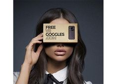 Get a FREE Pair of Google Virtual Reality Goggles!