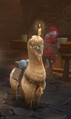 Alpaca Pet from Torchlight 2