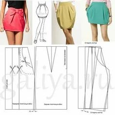 Pattern Fashion, Pattern Skirt, Couture, Summer Dresses, Skirts, Sewing, Paper Pieced Patterns, Dressmaking, Skirt