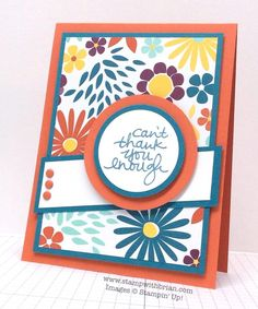 Lovely Amazing You, Stampin' Up!, Brian King, FMS174