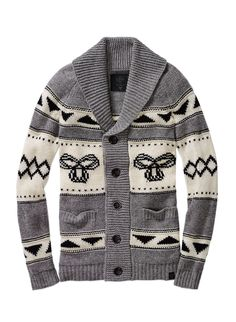 Inspired by traditional Northwest Coast knits, made with cozy lambswool