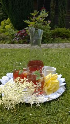 American Sweet Tea meets German Elderflower