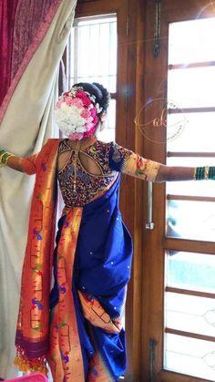 60 Best Nauvari Blouse Images In 2020 Nauvari Saree Marathi Bride Marathi Saree