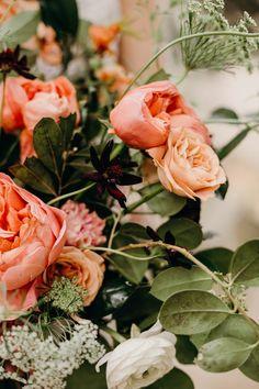 romantic Springtime wedding bouquet