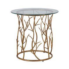 Gold Vine Round Table