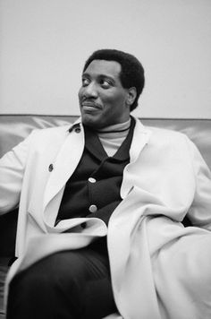 Iconic soul singer Otis Redding waiting backstage at Hunter College in New York City in January 1967. Photo: Michael Ochs Archives/Corbis.