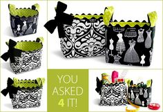 Fabric Baskets tutorial ~ great instructions- would make great gifts