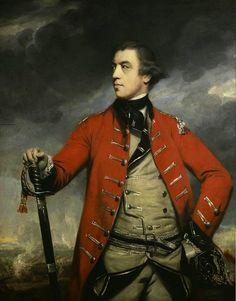 John Burgoyne by Joshua Reynolds, 1766