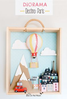 Diorama Paris Tea on the moon kireei magazine by Tea on the moon ♥ begoña ♥, via Flickr