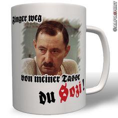 Ekel Alfred Tetzlaff Finger weg SOZI Kult Ruhrpott Kult Tasse - Becher  #7547