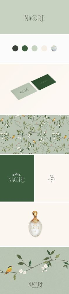 Brand Identity for Nacre Botanicals / by Cocorrina