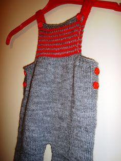 .........Oficina da Regina.......: Calça Jardineira em tricô para bebês