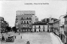 Cordoba✿✿✿plaza de la tendillas años foto antigua Tendillas, 1924