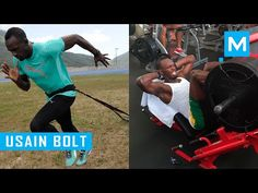Usain Bolt Strength and Conditioning Training | Muscle Madness - YouTube