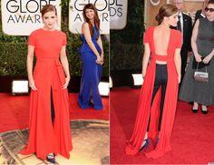 Emma Watson in Raf Simons | Golden Globes 2014