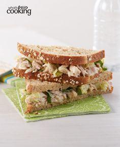 Tuna Caesar Sandwich #recipe