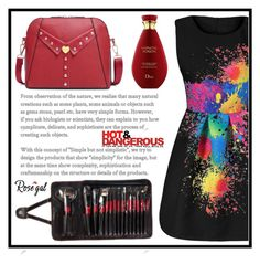 """""""Hot and Dangerous"""" by amra-sarajlic ❤ liked on Polyvore"""