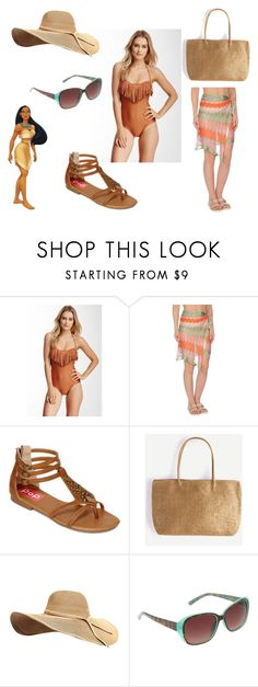 """""""Pocahontas - Beach"""" by christineedicks on Polyvore featuring Despi, Twin-Set, POP and Circus by Sam Edelman"""