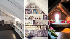 Attic Reading Nooks