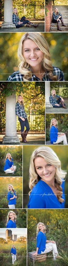 Fall Senior Pictures Dublin Ohio | Columbus Photographer
