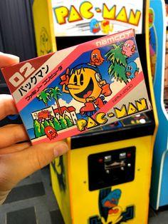 Pacman   via it8Bit  #pacman #retrogaming