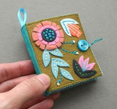 Needlebook inspiration and other felt craft ideas