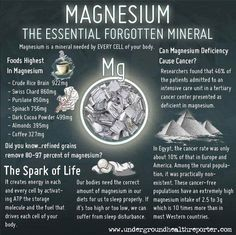 """Other natural sources of magnesium are nuts, legumes, seafood, whole grains, apples, bananas, peaches, and apricots. """"Like"""" if you find this information useful. And don't forget to """"share""""."""