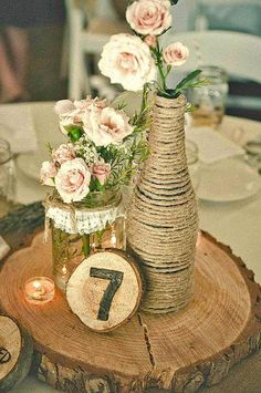 Rustic Wedding A lovely idea to put together that lovely dreamy time. rustic chic wedding centerpieces chic suggestion stat 1728027311 posted on 20190502 Wedding Pins, Trendy Wedding, Fall Wedding, Dream Wedding, Wedding Ideas, Wedding Cakes, Wedding Simple, Wedding Reception, Wedding Flowers