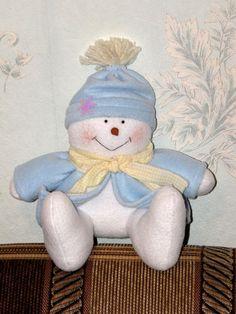 Snowman. Christmas Interior toy. Primitive toy. by LightDolls, $16.00
