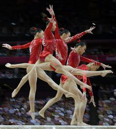 Beautiful Multi-Exposure Olympic Photography