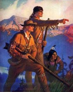Best book on american frontier history lewis